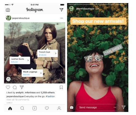 ¿Como comprar en Instagram?